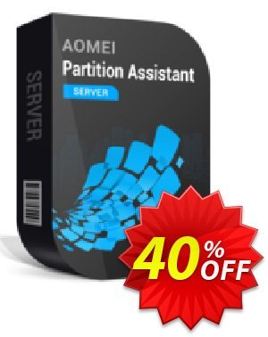 AOMEI Partition Assistant Server Coupon discount All Product for users 20% Off -