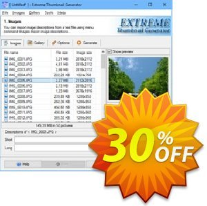 Extreme Thumbnail Generator Lifetime Coupon, discount 30% OFF Extreme Thumbnail Generator Lifetime, verified. Promotion: Imposing discount code of Extreme Thumbnail Generator Lifetime, tested & approved
