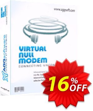 Aggsoft Virtual Null Modem discount coupon Promotion code Virtual Null Modem Standard - Offer Virtual Null Modem Standard special discount for iVoicesoft