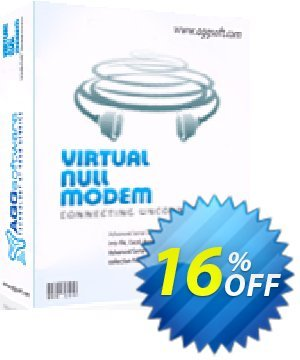 Aggsoft Virtual Null Modem Lite 優惠券,折扣碼 Promotion code Virtual Null Modem Lite,促銷代碼: Offer Virtual Null Modem Lite special discount for iVoicesoft