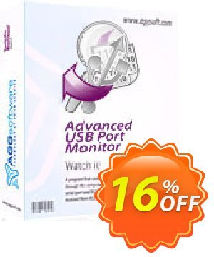 Aggsoft Advanced USB Port Monitor Lite discount coupon Promotion code Advanced USB Port Monitor Lite - Offer discount for Advanced USB Port Monitor Lite special at iVoicesoft