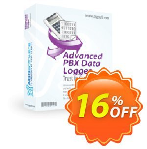 Aggsoft Advanced PBX Data Logger Coupon, discount Promotion code Advanced PBX Data Logger Standard. Promotion: Offer discount for Advanced PBX Data Logger Standard special at iVoicesoft