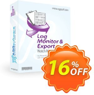 Aggsoft Log Monitor & Export Coupon, discount Promotion code Log Monitor & Export Standard. Promotion: Offer Log Monitor & Export Standard special discount for iVoicesoft