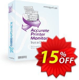 Aggsoft Accurate Printer Monitor Enterprise discount coupon Promotion code - Offer discount