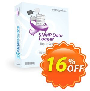 Aggsoft SNMP Data Logger Professional 프로모션 코드 Promotion code SNMP Data Logger Professional 프로모션: Offer SNMP Data Logger Professional special discount for iVoicesoft
