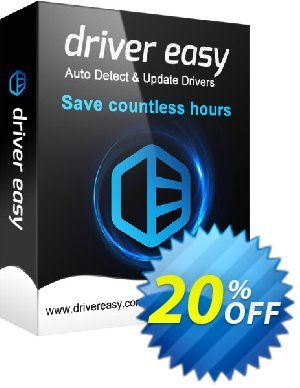 Driver Easy (100 Computers License / 1 Year) 優惠券,折扣碼 Driver Easy 20% Coupon,促銷代碼: impressive discount code of Driver Easy - 100 Computers License / 1 Year 2019