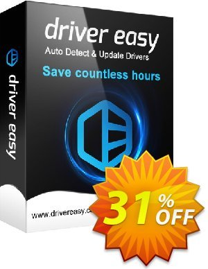 DriverEasy - 50 PC's / 1 Year 優惠券,折扣碼 Driver Easy discount code 30% Offer,促銷代碼: DriverEasy discount