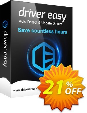 DriverEasy - 1 PC (1 Year) Coupon discount Driver Easy 20% Coupon. Promotion: DriverEasy PRO discount code