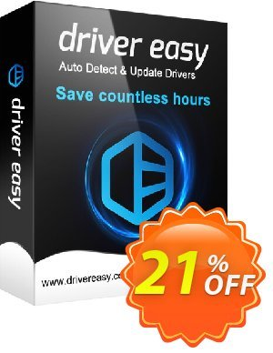 DriverEasy - 1 PC (1 Year) Coupon, discount Driver Easy 20% Coupon. Promotion: DriverEasy PRO discount code