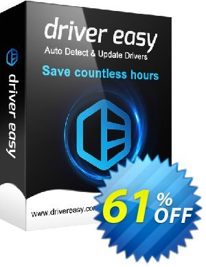 DriverEasy (3 PC's / 1 Year) 프로모션 코드 Driver Easy 20% Coupon 프로모션: DriverEasy promotion discount code
