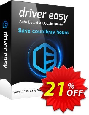 DriverEasy (5 PC's / 1 Year) 프로모션 코드 Driver Easy 20% Coupon 프로모션: DriverEasy promo code