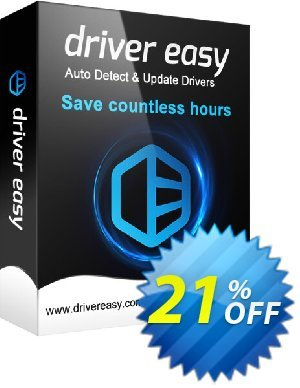 DriverEasy (5 PC's / 1 Year) Coupon, discount Driver Easy 20% Coupon. Promotion: DriverEasy promo code