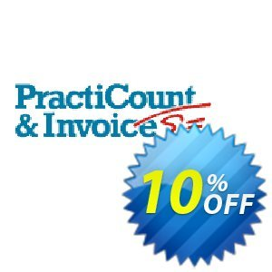 PractiCount and Invoice (Standard Edition - World License) Coupon discount Coupon code PractiCount and Invoice (Standard Edition - World License). Promotion: PractiCount and Invoice (Standard Edition - World License) offer from Practiline