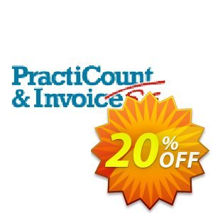 PractiCount and Invoice Enterprise Edition Coupon, discount Coupon code PractiCount and Invoice (Enterprise Edition) - 20% OFF. Promotion: PractiCount and Invoice (Enterprise Edition) - 20% OFF offer from Practiline