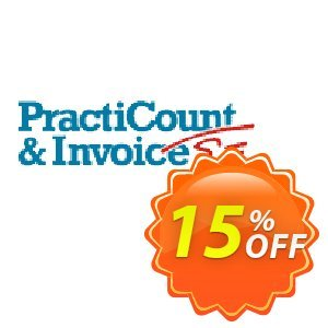 PractiCount and Invoice Enterprise Edition Coupon, discount Coupon code PractiCount and Invoice (Enterprise Edition) - 15% OFF. Promotion: PractiCount and Invoice (Enterprise Edition) - 15% OFF offer from Practiline