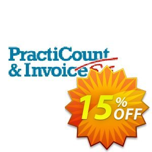 PractiCount and Invoice Standard Edition Site License discount coupon Coupon code PractiCount and Invoice (Standard Edition - Site License) - 15% OFF - PractiCount and Invoice (Standard Edition - Site License) - 15% OFF offer from Practiline
