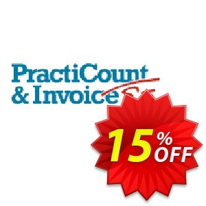 PractiCount and Invoice (World License) discount coupon Coupon code PractiCount and Invoice (Standard Edition - World License) - 15% OFF - PractiCount and Invoice (Standard Edition - World License) - 15% OFF offer from Practiline
