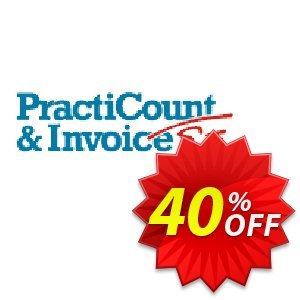 PractiCount and Invoice Business Edition Site License discount coupon Coupon code PractiCount and Invoice (Business Edition - Site License) - 40% OFF - PractiCount and Invoice (Business Edition - Site License) - 40% OFF offer from Practiline