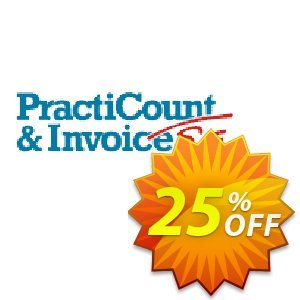 PractiCount and Invoice 4.0 Standard Edition World License Coupon, discount Coupon code PractiCount and Invoice (Standard Edition - World License) - 25% OFF. Promotion: PractiCount and Invoice (Standard Edition - World License) - 25% OFF offer from Practiline