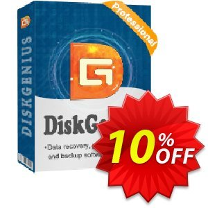 DiskGenius Professional (Technician) Coupon, discount 30%off P. Promotion: One sale OFF