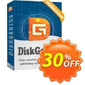 DiskGenius Professional Coupon, discount 30%off P. Promotion: One sale OFF