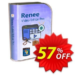 Renee Video Editor Pro (3 PC Lifetime) Coupon, discount Renee Video Editor Pro - 3 PC LifeTime Dreaded promotions code 2020. Promotion: Dreaded promotions code of Renee Video Editor Pro - 3 PC LifeTime 2020