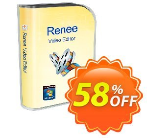 Renee Video Editor (Mac) Coupon discount 58% OFF Renee Video Editor (Mac) Dec 2020 - Dreaded offer code of Renee Video Editor (Mac), tested in December 2020