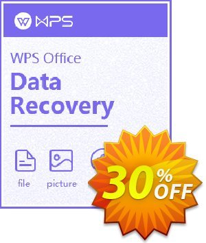 Get Kingsoft WPS Data Recovery Master 30% OFF coupon code