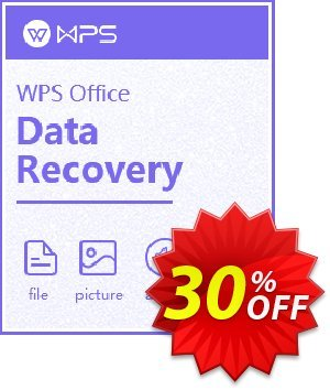 Kingsoft WPS Data Recovery Master Coupon, discount Kingsoft Data Recovery coupon. Promotion: Kingsoft Data Recovery coupon code for Master