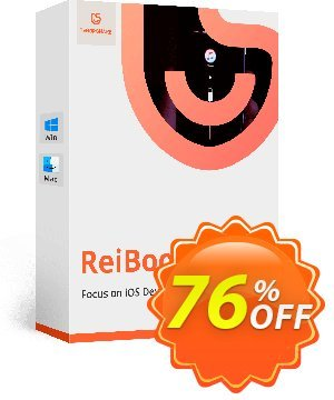 Tenorshare ReiBoot Pro (1 year license) discount coupon 76% OFF Tenorshare ReiBoot Pro (1 year license), verified - Stunning promo code of Tenorshare ReiBoot Pro (1 year license), tested & approved