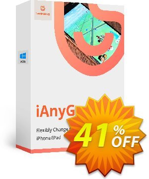 Tenorshare iAnyGo (1-Month Plan) discount coupon 41% OFF Tenorshare iAnyGo (1-Month Plan), verified - Stunning promo code of Tenorshare iAnyGo (1-Month Plan), tested & approved