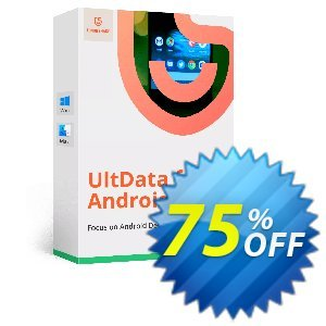 Tenorshare UltData - Android Data Recovery Coupon discount Tenorshare special coupon (29742) -
