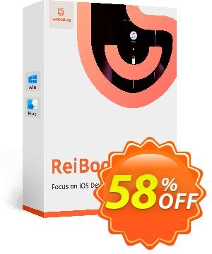 Tenorshare ReiBoot Pro for Mac 優惠券,折扣碼 58% OFF Tenorshare ReiBoot Pro for Mac, verified,促銷代碼: Stunning promo code of Tenorshare ReiBoot Pro for Mac, tested & approved