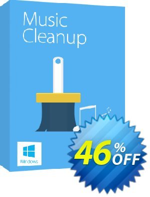 Tenorshare Music Cleanup offering sales softpedia.com---20% off of Musci cleanup. Promotion: