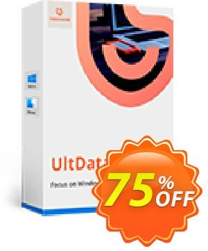Tenorshare UltData for iOS/Mac Coupon, discount Promotion code. Promotion: Offer discount