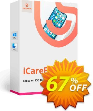 Tenorshare iCareFone for Mac (Unlimited License) discount coupon Promotion code - Offer discount