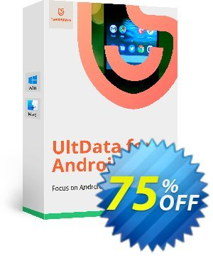 Tenorshare UltData for Android for Mac Coupon, discount Promotion code. Promotion: Offer discount