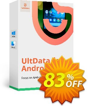 Tenorshare UltData for Android for Mac (Family Pack) discount coupon Promotion code - Offer discount