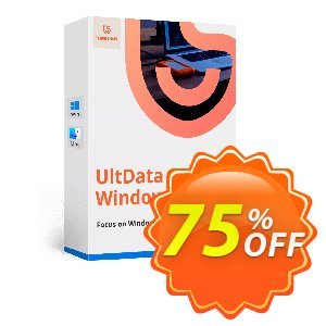 Tenorshare UltData Windows Data Recovery Coupon, discount discount. Promotion: coupon code