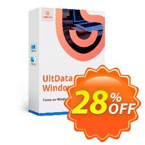 Tenorshare UltData  Windows Data Recovery (2-5 PCs) Coupon, discount discount. Promotion: coupon code