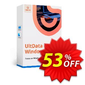 Tenorshare UltData Windows Data Recovery (Unlimited PCs) Coupon, discount discount. Promotion: coupon code