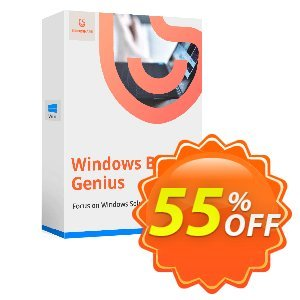 Tenorshare Windows Boot Genius (Unlimited PCs) Coupon, discount 55% OFF Tenorshare Windows Boot Genius (Unlimited PCs), verified. Promotion: Stunning promo code of Tenorshare Windows Boot Genius (Unlimited PCs), tested & approved