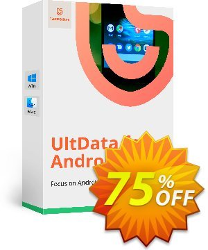 Get Tenorshare UltData for Android (Lifetime License) 75% OFF coupon code