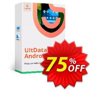 UltData for Android Coupon, discount Promotion code. Promotion: Offer discount