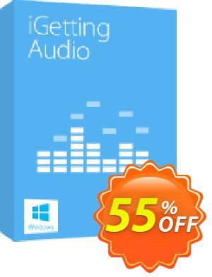 Tenorshare iGetting Audio discount coupon Lifetime Free Updates - 30-Day Money-Back Guarantee