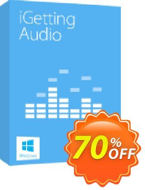 Tenorshare iGetting Audio (2-5 PCs) Coupon, discount 30-Day Money-Back Guarantee