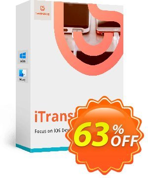 Tenorshare iTransGo for Mac (Unlimited Devices) Coupon, discount discount. Promotion: coupon code