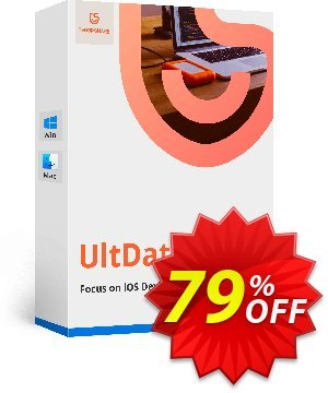 Tenorshare UltData for iOS (6-10 Devices) Coupon, discount Promotion code. Promotion: Offer discount