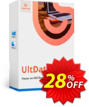 Tenorshare Ultdata for iOS/Mac (1 Month License) discount coupon Promotion code - Offer discount
