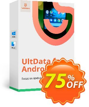 Tenorshare UltData for Android (1 Year License) discount coupon Promotion code - Offer discount